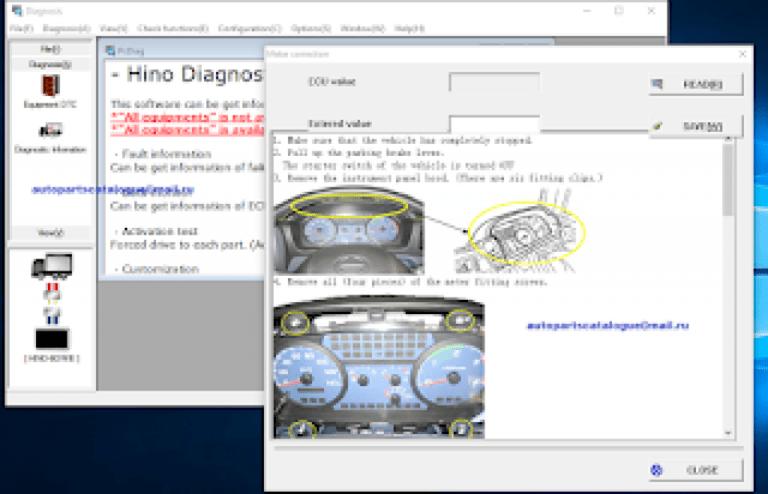 Hino Diagnostic eXplorer
