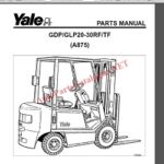 Yale Forklift Trucks Parts & Service Manuals 2021 PDF Collection