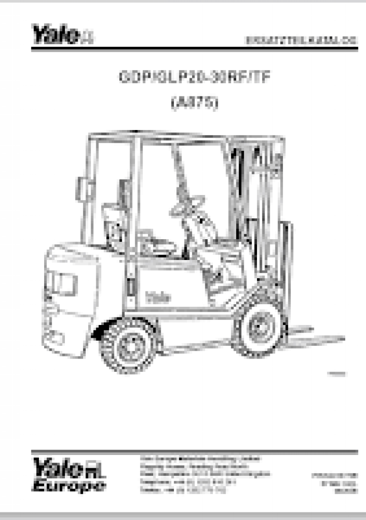 Yale Forklift Wiring Diagram from autopartscatalogue.net