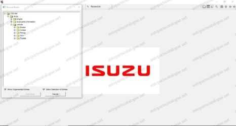 ISUZU CSS-NET EPC 2021 Parts Catalog