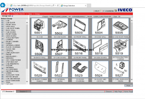 IVECO Power EPC Trucks Parts Catalog