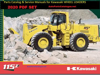 Kawasaki Wheel Loader Parts Catalog, Service Manuals [2020] PDF SET