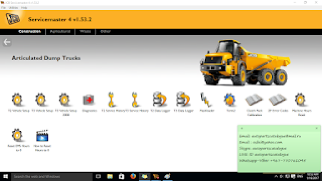 JCB Service Master 4 | Diagnostic Software