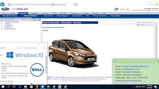 FORD ETIS IDS 2022 Technical Information System
