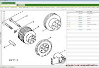 John Deere & Hitachi Parts ADVISOR 2021 Parts Catalog