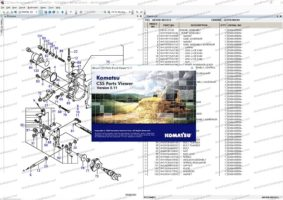 Komatsu Linkone CSS Parts Viewer 5.1 [2021] Full Models