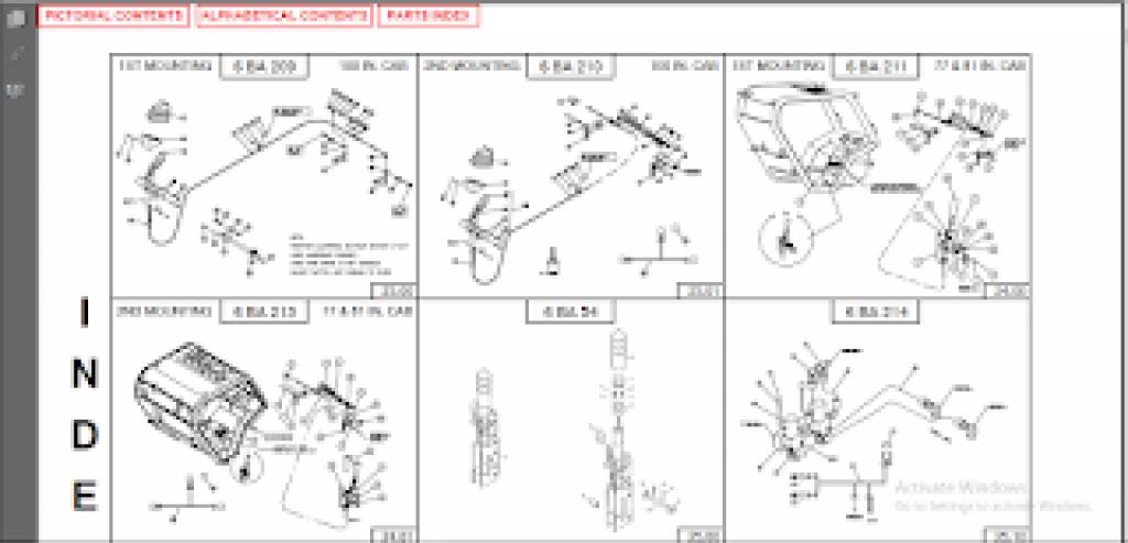 mitsubishi forklift parts catalogue