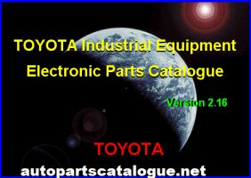 Toyota Industrial Equipment EPC V2.27 [2020] Parts Catalog