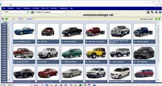 Chrysler PAIS-4 EPC International [2018] Parts Catalog
