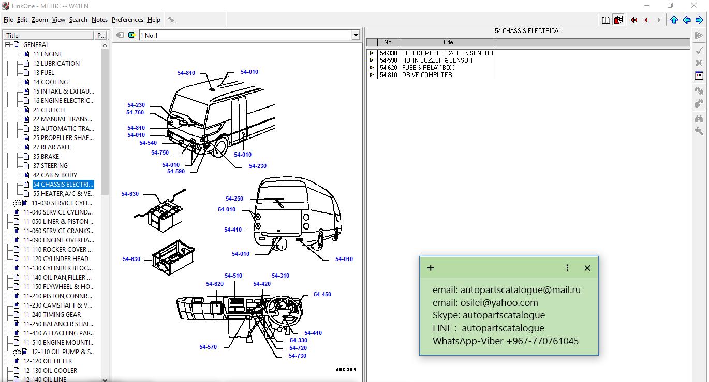 Mitsubishi Fuso Trucks Epc 2018 Parts Catalog