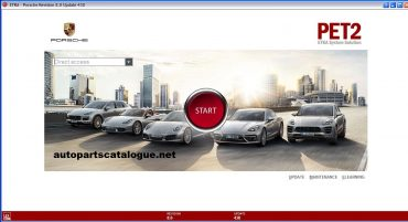 Porsche PET2 EPC 2021 Online Parts Catalog +VIN