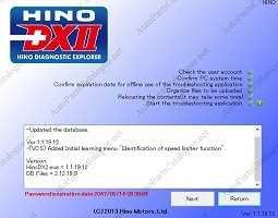 Hino Diagnostic eXplorer 2 - Hino DX2