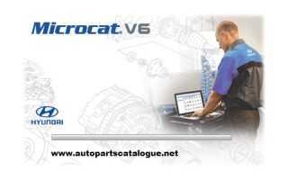 Microcat Hyundai V6 EPC [2018] Parts Catalog