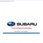 Subaru EPC3 Japan [2020] Spare Parts Catalog