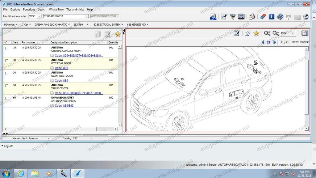 Mercedes Benz Parts Catalog >> Mercedes Benz Epc 2019 Parts Catalog Autopartscatalogue