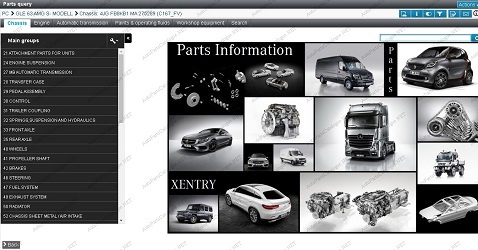 Mercedes-Benz EPC 2021 Online Dealer -Parts Catalog