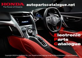 HONDA EPC General V4.0 [2020] New Electronic Parts Catalogue