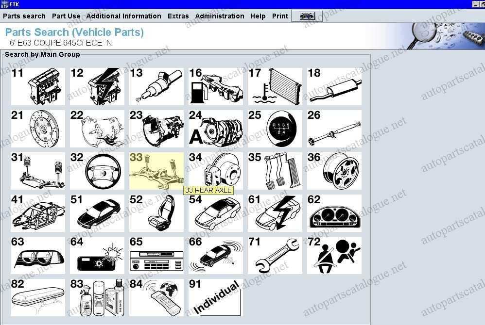Bmw Mini Rolls Royce Etk 032019 Parts Catalog