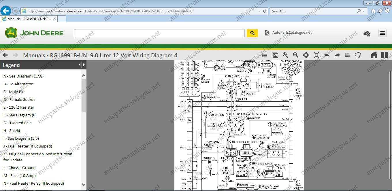 John Deere Service ADVISOR 5.2 Agricultural on