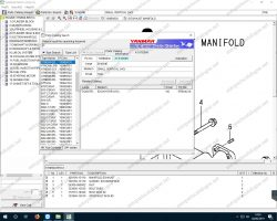 Yanmar Heavy Equipment EPC 2006 | Parts catalog