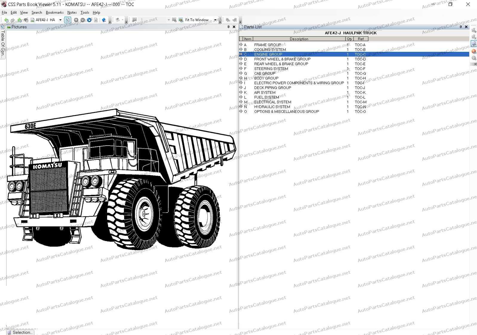 komatsu linkone css parts viewer 5 1  2020  full models