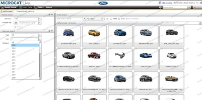 Ford Microcat EPC 2021 Online - Parts Catalog