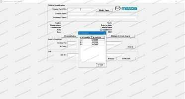 Mazda EPC General [2021] Parts Catalog