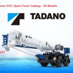 Tadano Cranes EPC [07.2021] Spare Parts Catalog - All Models