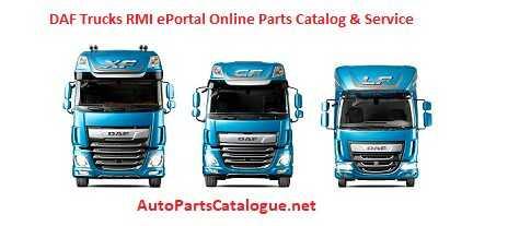 DAF Rapido RMI 2021 Online Parts Catalog & Service information