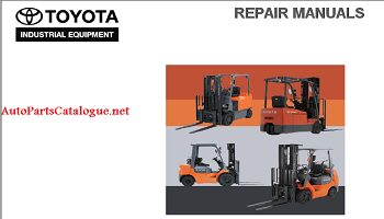 Toyota forklift Trucks Parts & Service Manuals PDF Collection