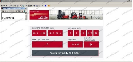 Linde Lindos Forklift Trucks EPC Parts Catalog