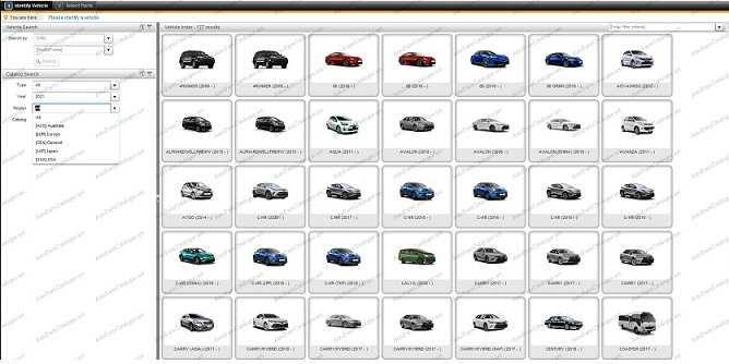 Toyota - Lexus Microcat 2021 Online - Parts Catalog