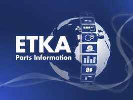 ETKA 8.2 - AUDI, VW, SEAT, SKODA [07/2021] Parts Catalogue