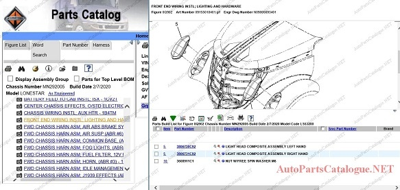 International Navistar Trucks 2021 | Online Spare Parts Catalog