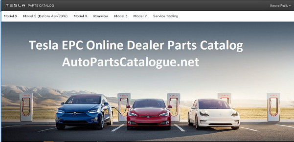 Tesla EPC 2021 Online Dealer Parts Catalog