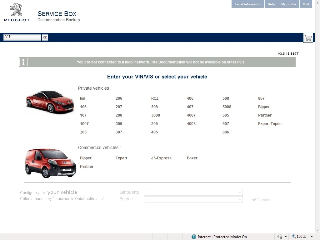 Peugeot Service Box 2014 Parts and Service Manual