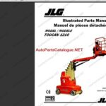 JLG Lift Equipment 2021 Parts and Service Manuals PDF SET
