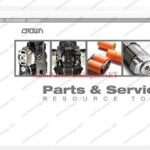 Crown Forklifts PSRT [2020] Parts and Service Resource Tool V5