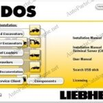 Liebherr Lidos Offline 2021 Parts Catalog & Service Manuals